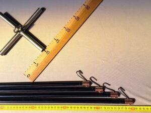Čeřenová konstrukce laminátová 2,0 x 2,0 m/ 12 mm