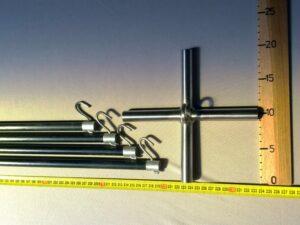 Čeřenová konstrukce laminátová 2,5 x 2,5 m/ 14 mm
