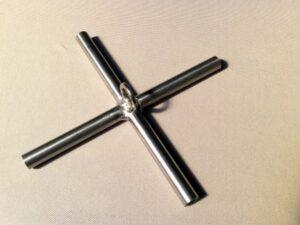 Kříž na čeřen 1,5 x 1,5m