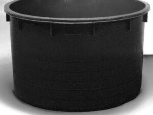 Káď  600l černá polyethylen (PE)
