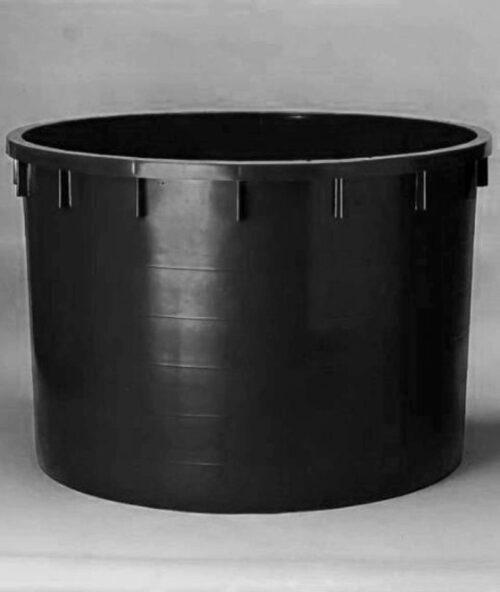 Káď  750l černá polyethylen (PE) - 1