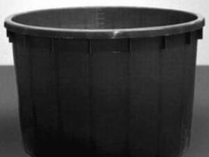 Káď  1000l černá polyethylen (PE)