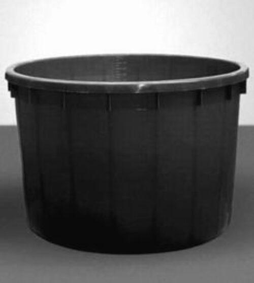 Káď  1000l černá polyethylen (PE) - 1