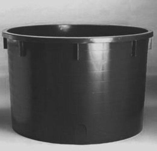Káď  1500l černá polyethylen (PE) - 1