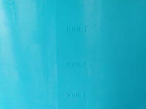 Káď  550l modrá polyethylen (PE) - 3