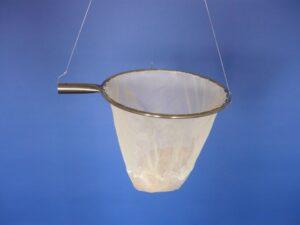 Keser nerez 35 cm/ výplet PAD 2×2/0,6 mm bílá