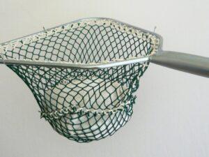 Sak zinkovaný 40 cm/ výplet PAD 20×20/2,8 mm zelená