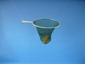 Keser zinkovaný 45 cm/ výplet PAD 10×10/1,8 mm zelená