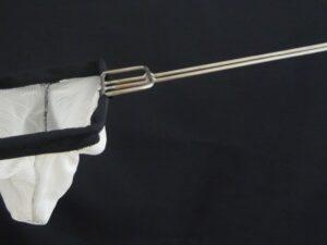 Sáček drátěný nerez 20 x 30 cm/ výplet PAD 2×2/0,6 mm bílá