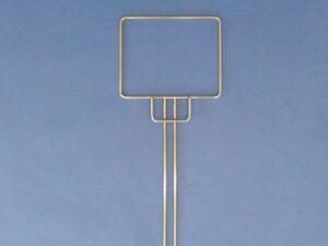 Sáček drátěný rám nerezový 20 x 25 cm