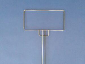 Sáček drátěný rám nerezový 20 x 40 cm