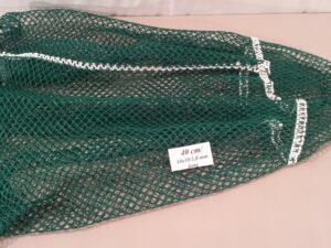 Výplet keseru na odchyt bažantů 40 cm/ 10×10/1,4 mm zelená