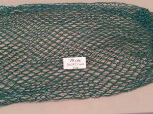 Výplet keseru na odchyt bažantů 40 cm/ 20×20/2,1 mm zelená