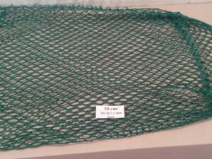Výplet keseru na odchyt bažantů 50 cm/ 20×20/2,1 mm zelená