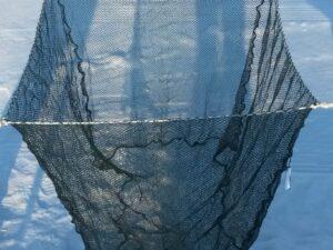 Kolíbka jednoduchá závěsná (klecová síť) 1,5 x 1,5 x 1,5m PAD 5/0,6 mm černá