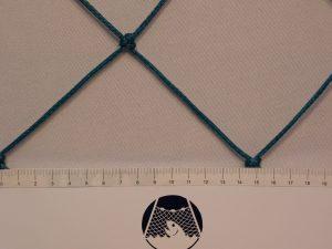 Fotbalová síť ochranná PET 100/3,0 mm zelená