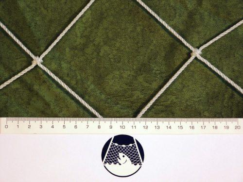 Fotbalová síť PET 100/3,0 mm bílá - 1