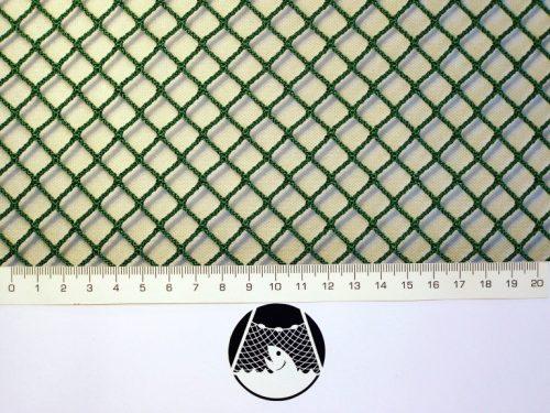 Síťovina polyamid nylon rašlovaná strojní 10×10/1,8 mm PAD zelená - 1