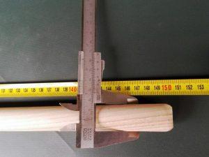 Násada 150 cm/ 25 mm rovná