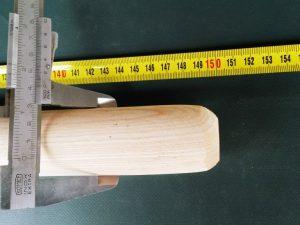 Násada 150 cm/ 40 mm rovná