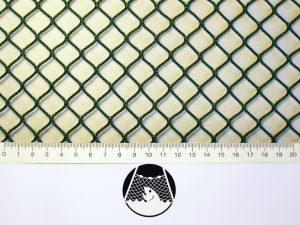 Síťovina nylon (PAD) rašlová strojní 15×15/2,0 mm zelená