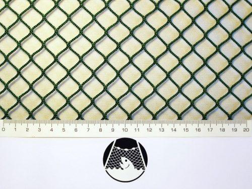 Síťovina polyamid nylon rašlovaná strojní 15×15/2,0 mm PAD zelená - 1