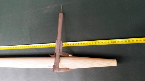Násada 200 cm/ 40 mm tvarovaná - 1