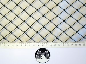 Síťovina ochranná uzlovaná polyethylen – multifil 20×20/1,1 mm PET tmavě zelená