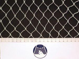 Přepínací síť – plot 20×20/1,4 mm PAD bílá – uzel/ 1,5m
