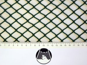 Síťovina nylon (PAD) rašlová strojní 20×20/2,1 mm zelená