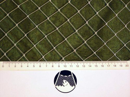 Voliérová síť pro chov koček PET 22×22/0,9 mm transparentní uzlovaná - 1