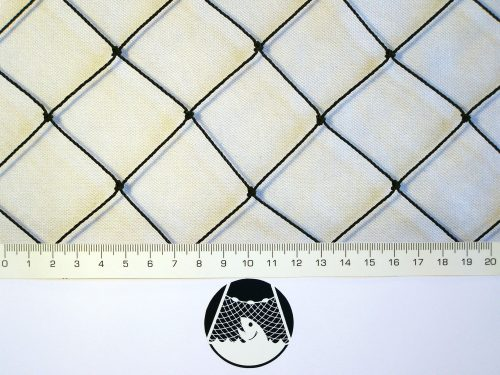 Ochranná síť polyethylen (PET) 40/1,4 mm černá uzlová - 1