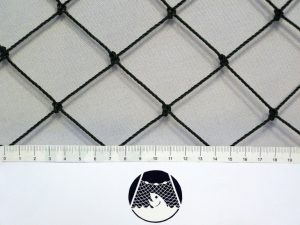 Tenisová síť na méně exponovaná místa PET 45/2,0 mm tmavě zelená