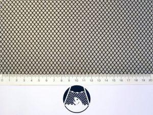 Síťovina nylon (PAD) rašlová strojní 4×4/0,6 mm černá