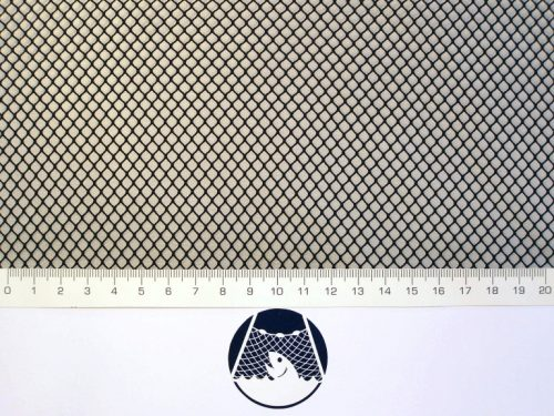 Síťovina nylon (PAD) rašlová strojní 4×4/0,6 mm černá - 1