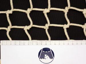 Síťovina ručně pletená bavlna 50/5 mm
