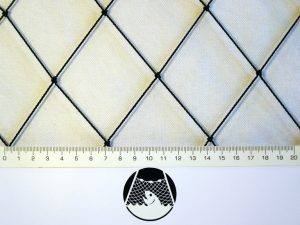Voliérová síť pro chov drůbeže PET 55/1,4 mm černá