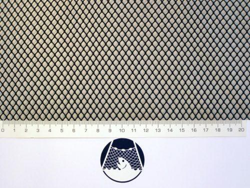 Síťovina polyamid nylon rašlovaná strojní 5×5/0,6 mm PAD černá - 1