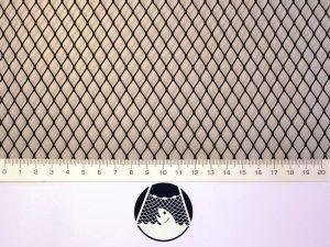 Síťovina nylon (PAD) rašlová strojní 8×8/0,6 mm černá