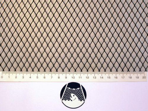 Síťovina polyamid nylon rašlovaná strojní 8×8/0,6 mm PAD černá - 1