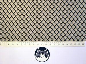 Síťovina nylon (PAD) rašlová strojní 8×8/1,2 mm černá