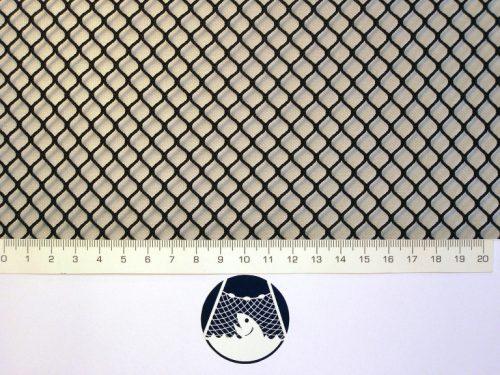 Síťovina polyamid nylon rašlovaná strojní 8×8/1,2 mm PAD černá - 1
