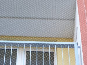 Sítě proti holubům PET 50/0,9 mm transparent - 4