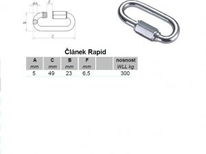 Článek RAPID 5 mm ZN - 2