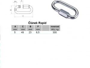 Článek RAPID 8 mm ZN - 2