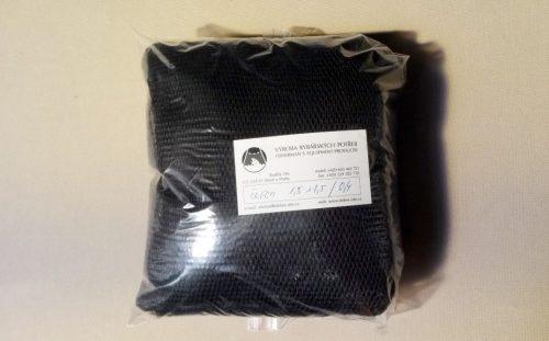 Čeřenová síť 1,5 x 1,5 m/ PAD 4×4/0,6 mm černá – rašl - 1