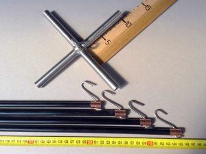 Čeřenová konstrukce 1,5 x 1,5 m/ 10 mm