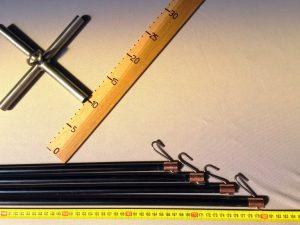 Čeřenová konstrukce 2 x 2 m/ 12 mm