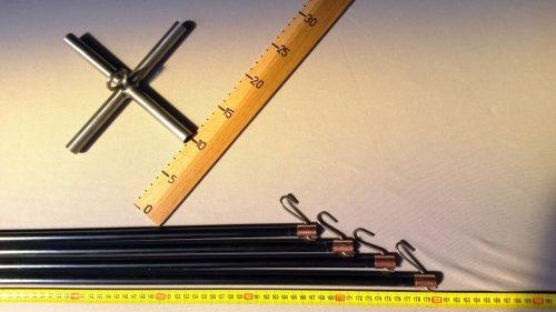 Čeřenová konstrukce 2 x 2 m/ 12 mm - 1