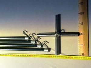 Čeřenová konstrukce 2,5 x 2,5 m/ 14 mm